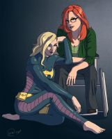 Babs and Stephanie by giaaeron