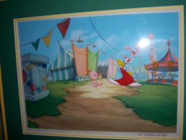 On the Wall: Roger Rabbit by tombancroft