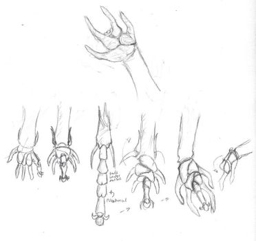 Roach Hands by mr-author