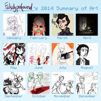 2014 Summary of Art by Achyfi