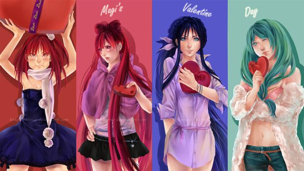 Magi - Four Valentines by Namiz