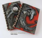 Biomechanic Dragon Notebook by Diarment