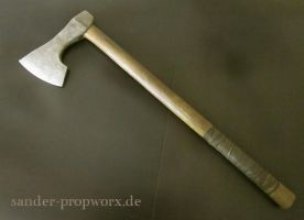 Larp battleaxe by BloodworxSander