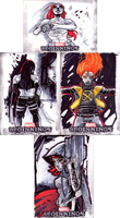 MARVEL BEGINNINGS 3 SKETCH CARDS 7 by CRISTIAN-SANTOS