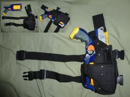 Nerf Maverick Drop Holster by MarcWF