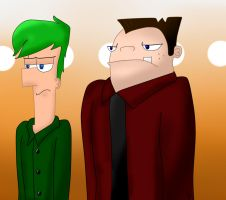 PnF ~ IS Comic Preview, of a Preview by BlueAuroraLight