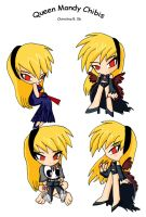 Queen Mandy Chibis by pretty-and-dangerous