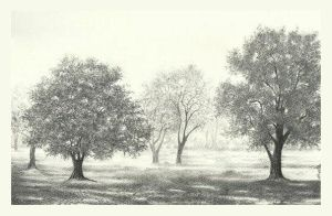 Tree garden by aakritiarts