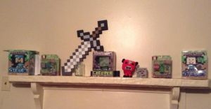 Minecraft collection by ChibiMisfit