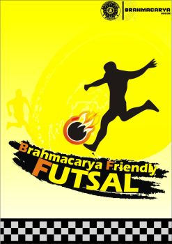 Brahmacarya Friendly Futsal by yancupak-graphycii