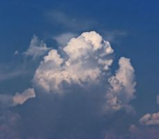 CUMULOUS JULY CLOUDS 2 cropped 7.22.2007 0350 by CorazondeDios