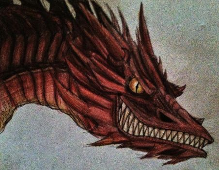 Smaug by TheDoomsdayKing