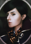 Dishonored 2: Imperial portrait by slowpenguin