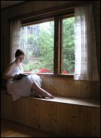 Reading I by Eirian-stock
