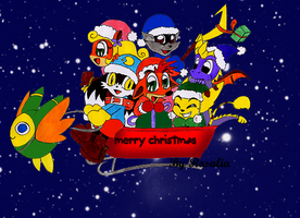 chibi christmas by fizzreply