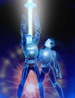 In Honor of Tron by Jimmy-B-Deviant