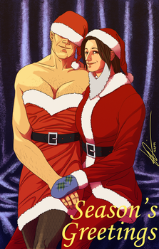 Half-Lifers Christmas Contest Entry by tupuchan