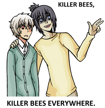 No.6 Killer Bees Everywhere by xxx-TeddyBear-xxx
