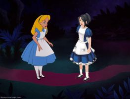 Alice Meets Alice? by Mommy-of-Ein