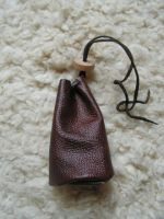 Mini leather pouch II by Glapsvidur