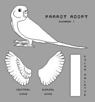 Pixel Parrot- Downloadable Content by Kennadee