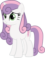 Grown up Sweetie Belle by asdflove