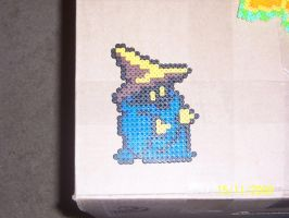 8 bit black mage by Frost-Claw-Studios