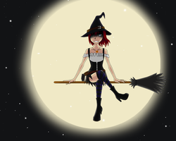 Witch of the Night by XlKairilX