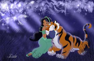 Jasmine and rajah by Laurine-Tellier