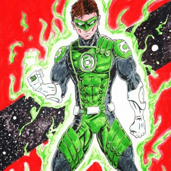 Green Lantern by coyote117