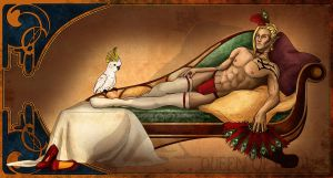 Odalisque by queenofthecrows