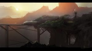 Train Speedpainting video by erenarik