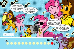 Cream Cheese and Val: Party Manester 8 by starlightv