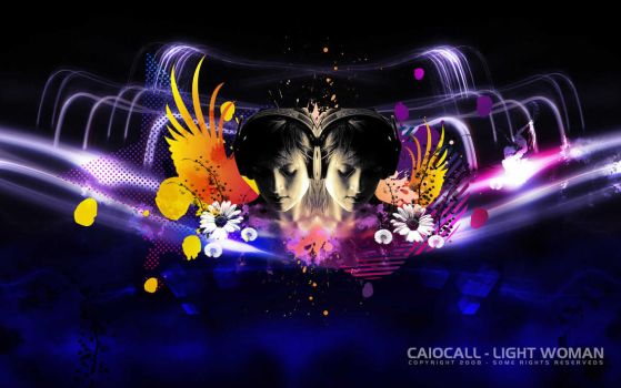 Light Woman by caiocall
