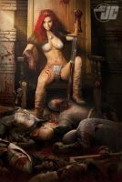Red Sonja: The New Queen by Jeffach
