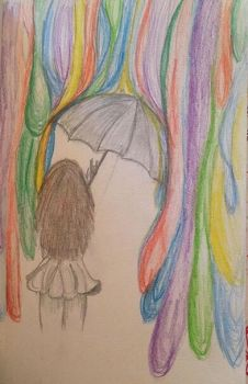Colorful rain by KarCastiel