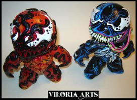 Venom and Carnage 2 by VILORIA-ARTS