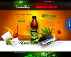 FUTURA DRINK - graphic design - www by webdesigner1921
