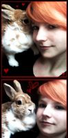 Me and my Rabbit by Nami06