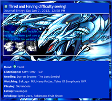 Blue-Eyes Ultimate Dragon Journal CSS by AESD