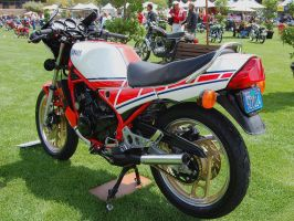 Yamaha RZ350 Roberts 2 stroke by Partywave
