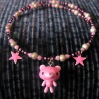 Gloomy Bear Necklace by SugarAndSpiceDIY