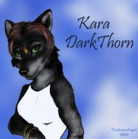 Kara DarkThorn by vladimirsangel