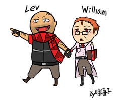 TF2_OC Medic and Heavy by aulauly7