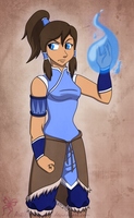 Avatar Korra by chachi411