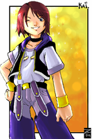 Kingdom Hearts AU character by The-Z