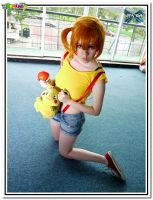 Misty cosplay by sanchanclau