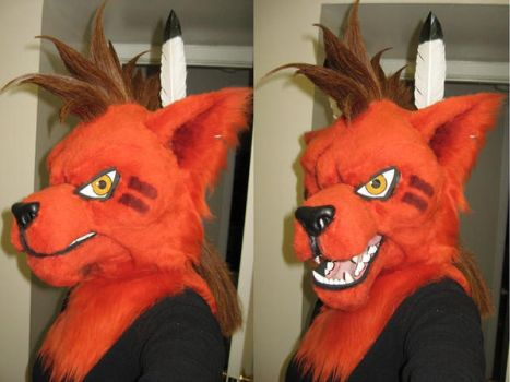 Red XIII New Hair style by Monoyasha