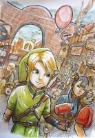 The City of Hyrule by Bardsville