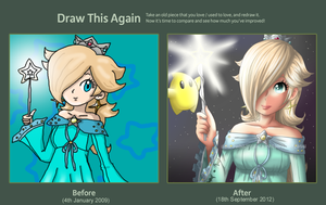 Draw this Again! Rosalina by adricarra